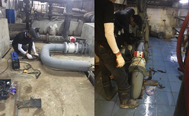 SUP-LDG magnetic flowmeter applied to Philippine Water Treatment Project