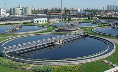 Supmea ultrasonic level meter used in wastewater treatment