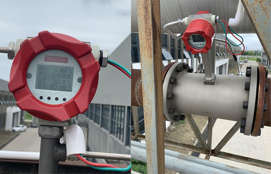Flowmeter use in Printing and Dyeing company