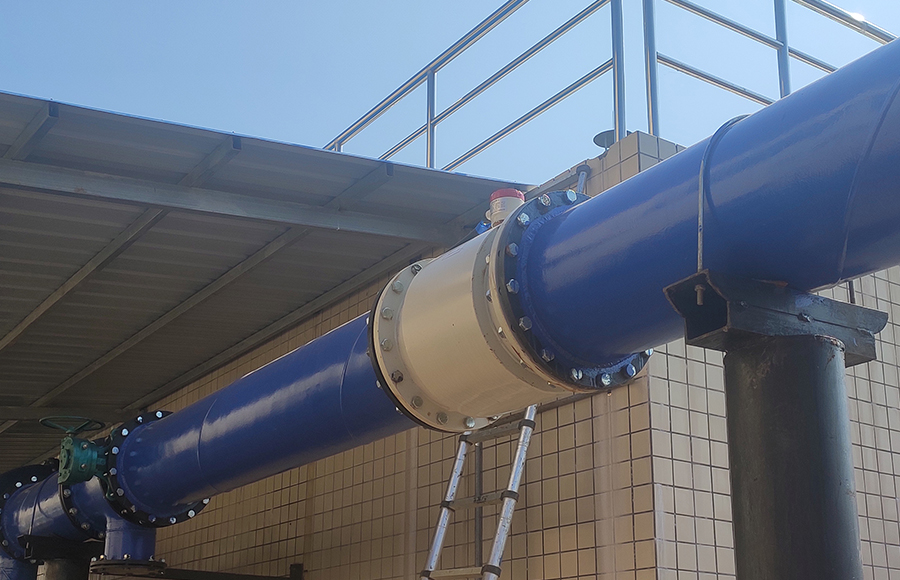 mag meter used in Sewage Treatment Plant