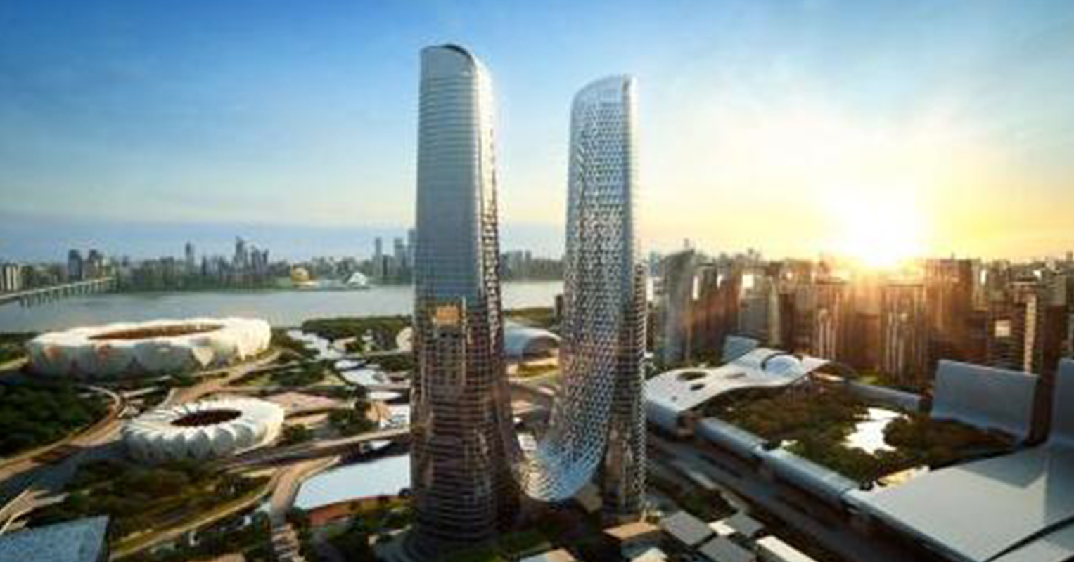 Supmea products are used in the tallest building in Hangzhou